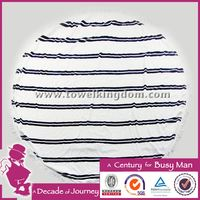 2016 best quality hot sales sublimation printed round towel beach