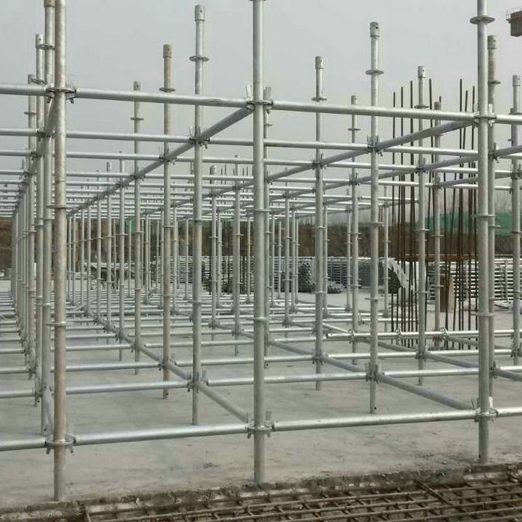 Easy installation ringlock scaffolding and quick lock scaffolding for sale