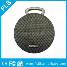 Travel hook fabric portable wireless bluetooth speaker new with fabric cloth cover design