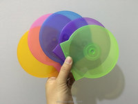 Colorful Slim cd case Clam Shell