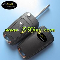 Hot sale 3 buttons car flip key cove for chevrolet cruze key chevrolet key