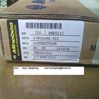 NMB brand deep groove NMB singapore bearing 608 NMB paper box package