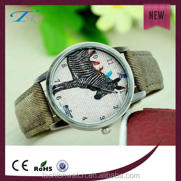 Japan movt quartz watches men,promotional nylon strap wrist watch