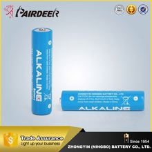 Hot sale pack dry battery1.5v aaa am4 lr03 alkaline dry battery