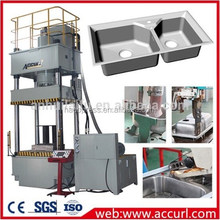 Ermaco brand Four Column Hydraulic Press 1000 tons Deep Drawing Metal Forming Machine
