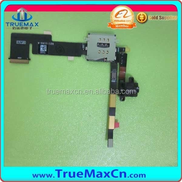 Replacement Audio Flex For iPad 2 Headphone Flex, Mobile Phone Audio Jack Flex Cable