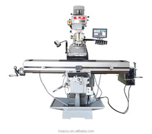 XG5517 spindle power 5HP knee type universal turret milling machine