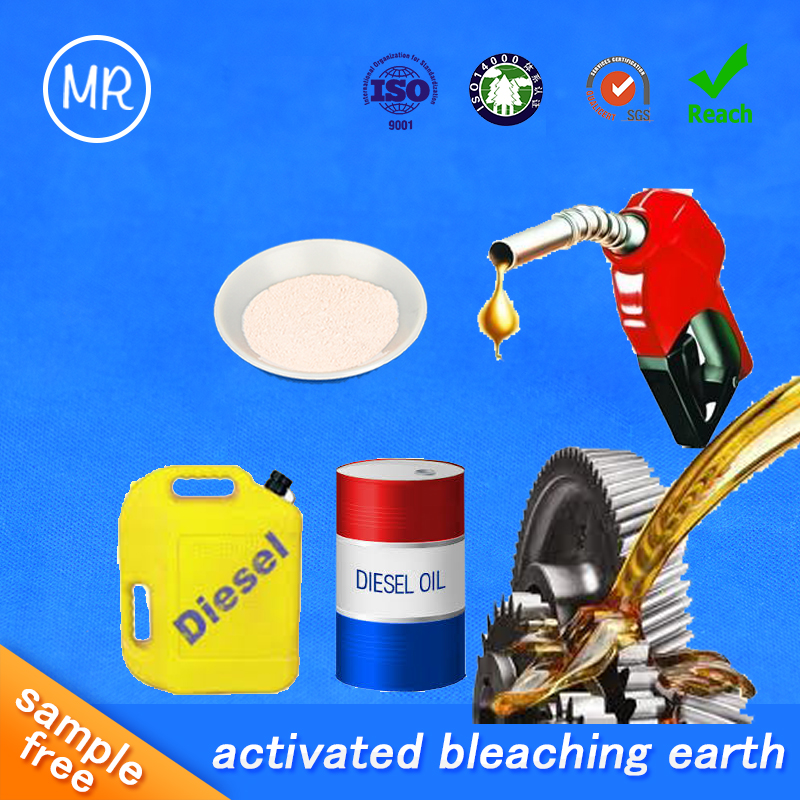 highly acid bentonite clay activated clay bleaching earth for oil refining