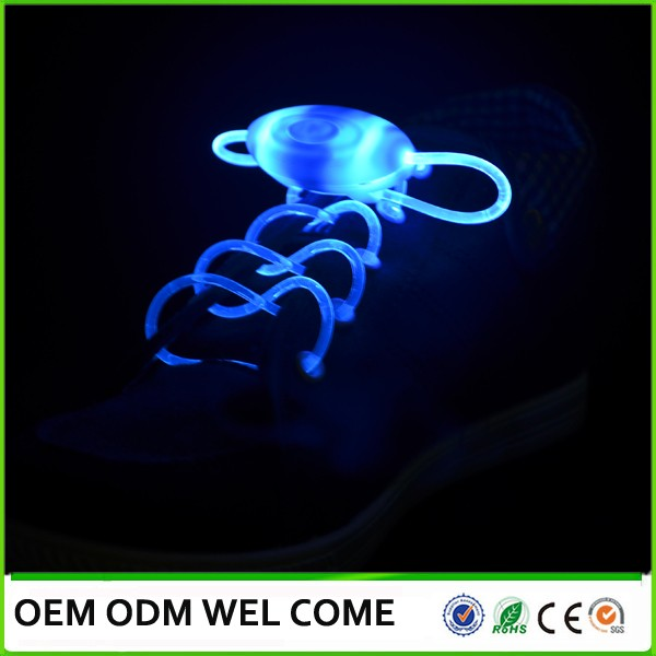 flashing LED shoelace LED high light up shoelaces