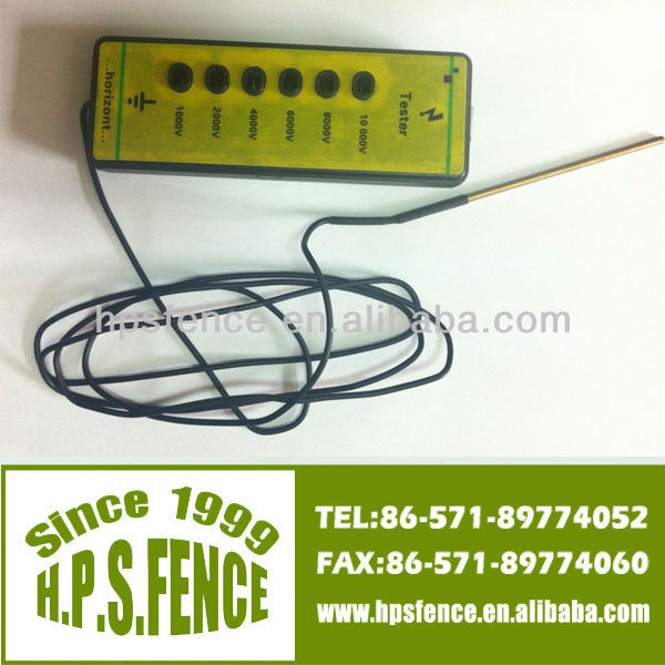 equipment for sheep farm electric fence 1000V-10000V plastic ranch neon voltage tester