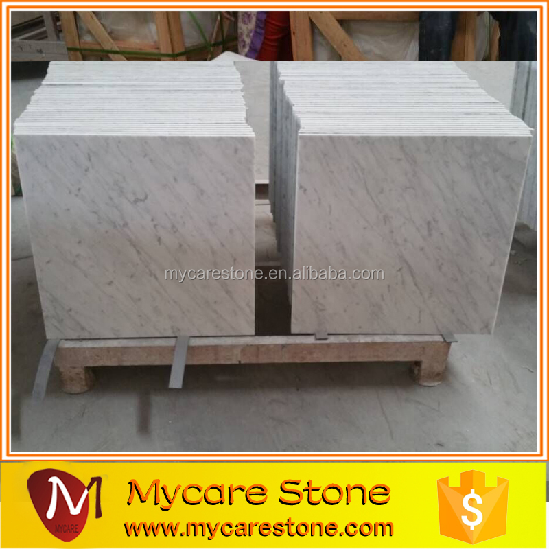 Wholesales Italy carrara white marble with black veins