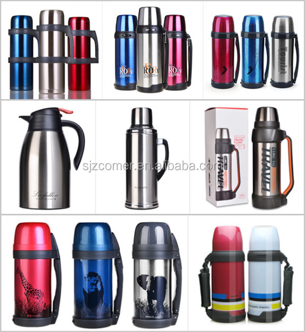 stainless steel insulated water bottle / water kettle / water jug
