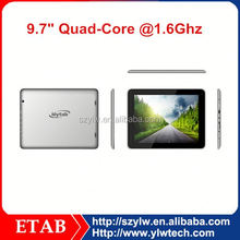 9.7 inch RK3188 system 4.3 android tablet