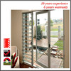Special PVC double swing french doors