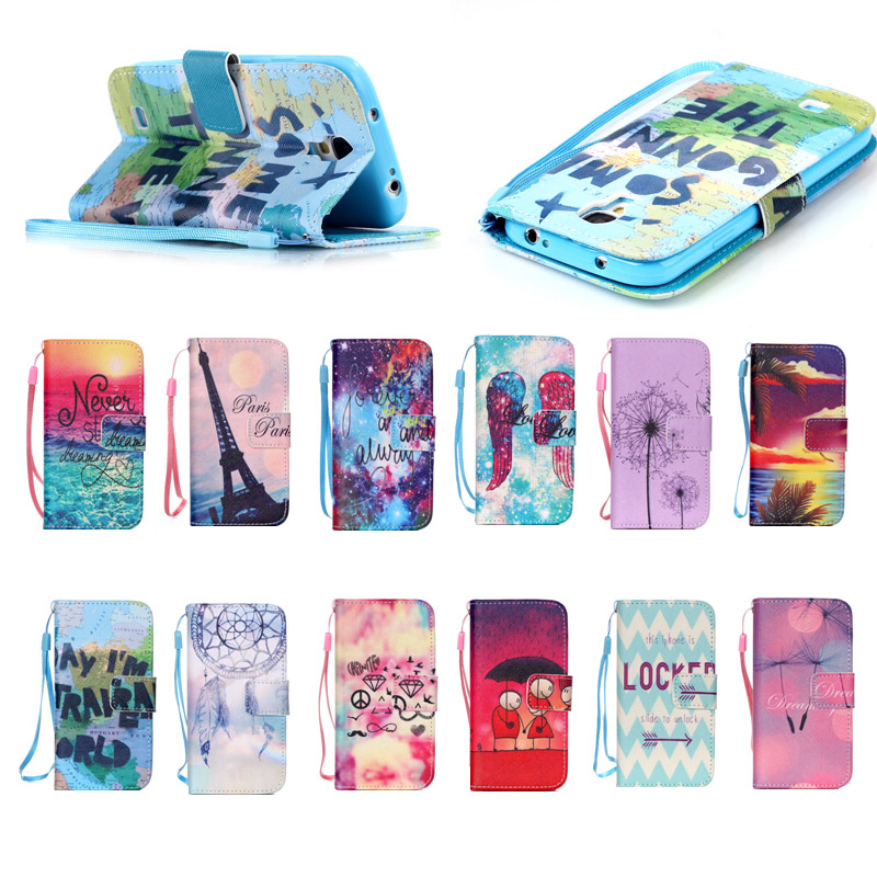 Fancy Colorful soft tpu + PU leather cover Case for samsung s4, for Samsung S4 leather case with Hand Strap