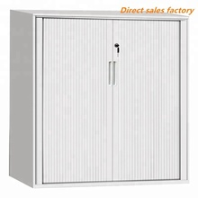 Simple install PVC ABS customized slats roller shutter parts for cabinet