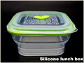 new large heatable freshness silicone Snack Box,Heat Preservation Lunch Box,Lunch Box With sealed lid