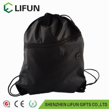 2017 Wholesale Cheap Promotional Polyester Drawstring Bag