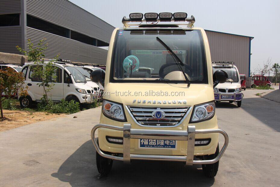 Mini Electric Bus Three Wheel Electric Vehicle Caravan