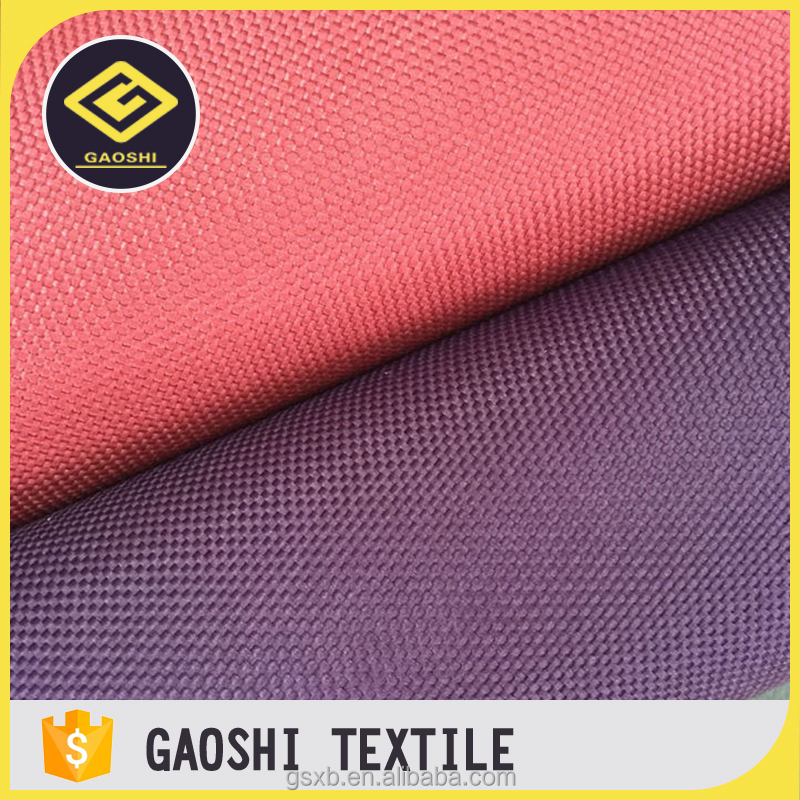 China Manufacturer 100% Polyester PVC Coated 1200D Oxford Car Toolkits Fabric Without White Scratched Traces
