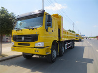 hot sale high quality 8*4 lng type SINOTRUK 40ton HOWO dump truck