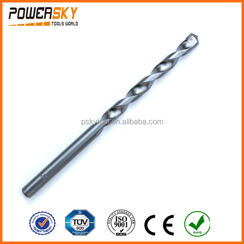 Milled Double Flutes Sand Finished Masonry Drill Bit for Concrete