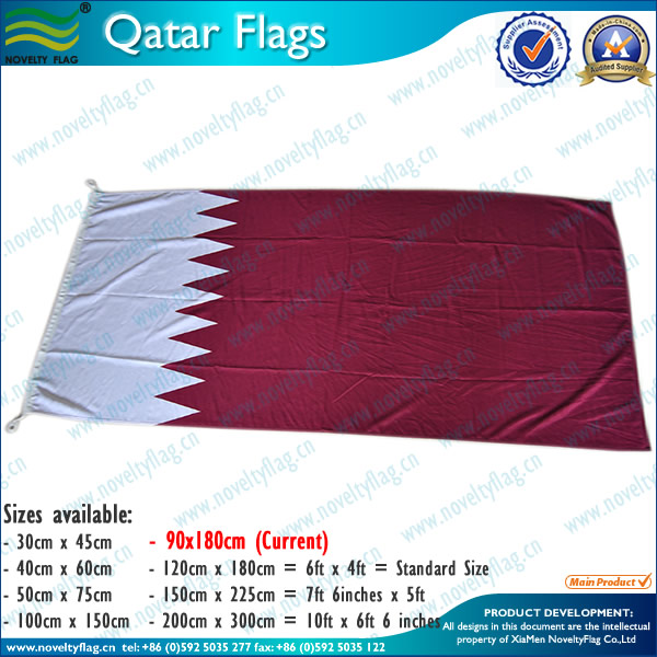 Kinds of qatar flags China Supplier