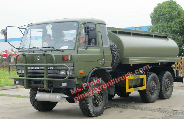 Hot Sales! Dongfeng All Wheel Drive 6*6 Off Road Military Dispenser Mobile Truck For Fuel Oil Diesel Gasoline