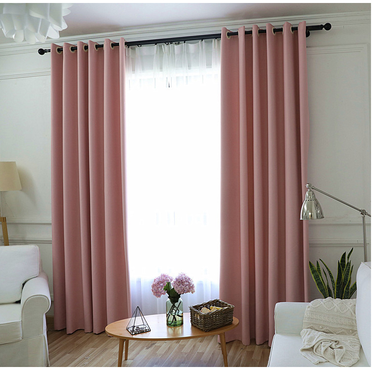 Simple curtain design type of office window black out curtain