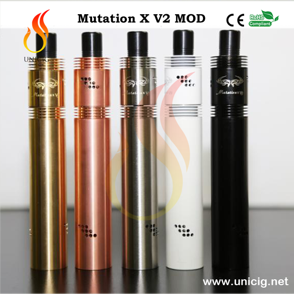 Authentic electronic cigarette high quality vapor smoking mutation x mod 18650 battery