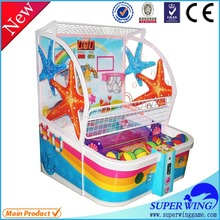 Cheap price children play game machine indoor electronic basketball games