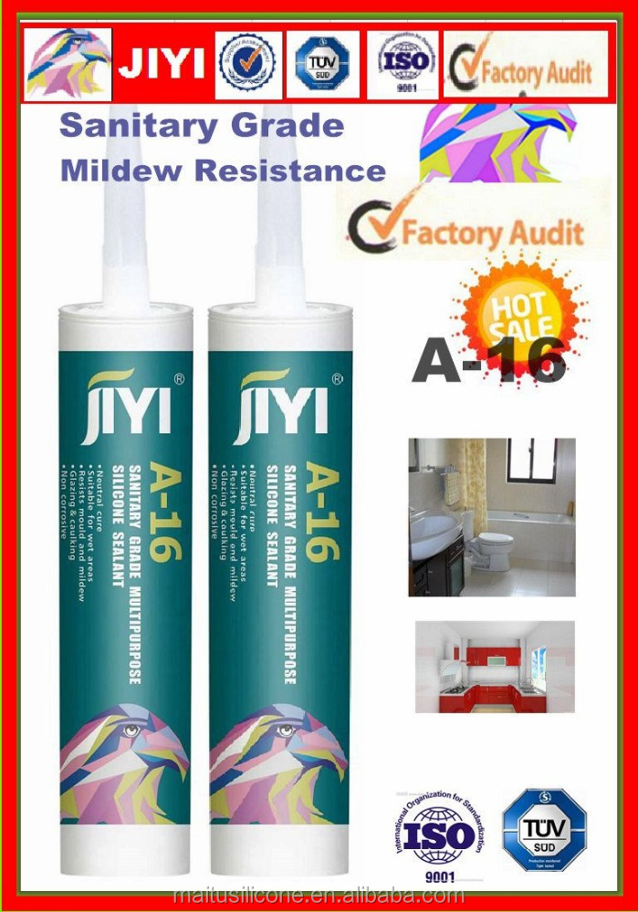one component neutral cure anti-mildew silicone & weather-resistant liquid silicone rubber sealant customized color gum