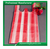 Candy Striped T-shirt Plastic Bag