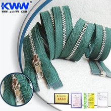 No.5 Excellent polished Metal Zipper for Purse Guangzhou