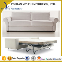 2015 modern design metal sofa cum bed from ikea SB005