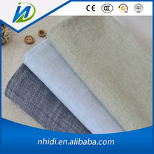Best selling 100 cotton yarn dyed chambray shirting fabric