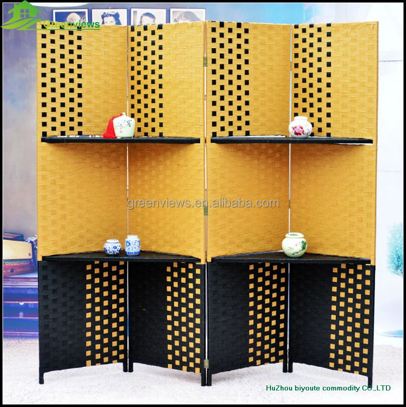 Decorative folding screens accordion living room for Cheap decorative screens