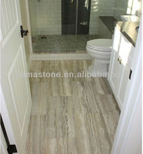 Polished Silver Grey Travertine Tiles