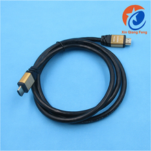 6.5 Feet 2 meters high-Speed 1080P 3D 4K Male HDMI to HDMI cable 2.0 supports ethernet and Audio Return