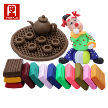 Factory Price 24 Colors Gift accessory A Set Safe Non-toxic Handmade Modeling Toy Playdough Polymer Clay