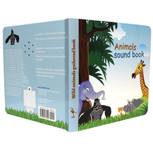 Sound music book kids sound books sound board book for child