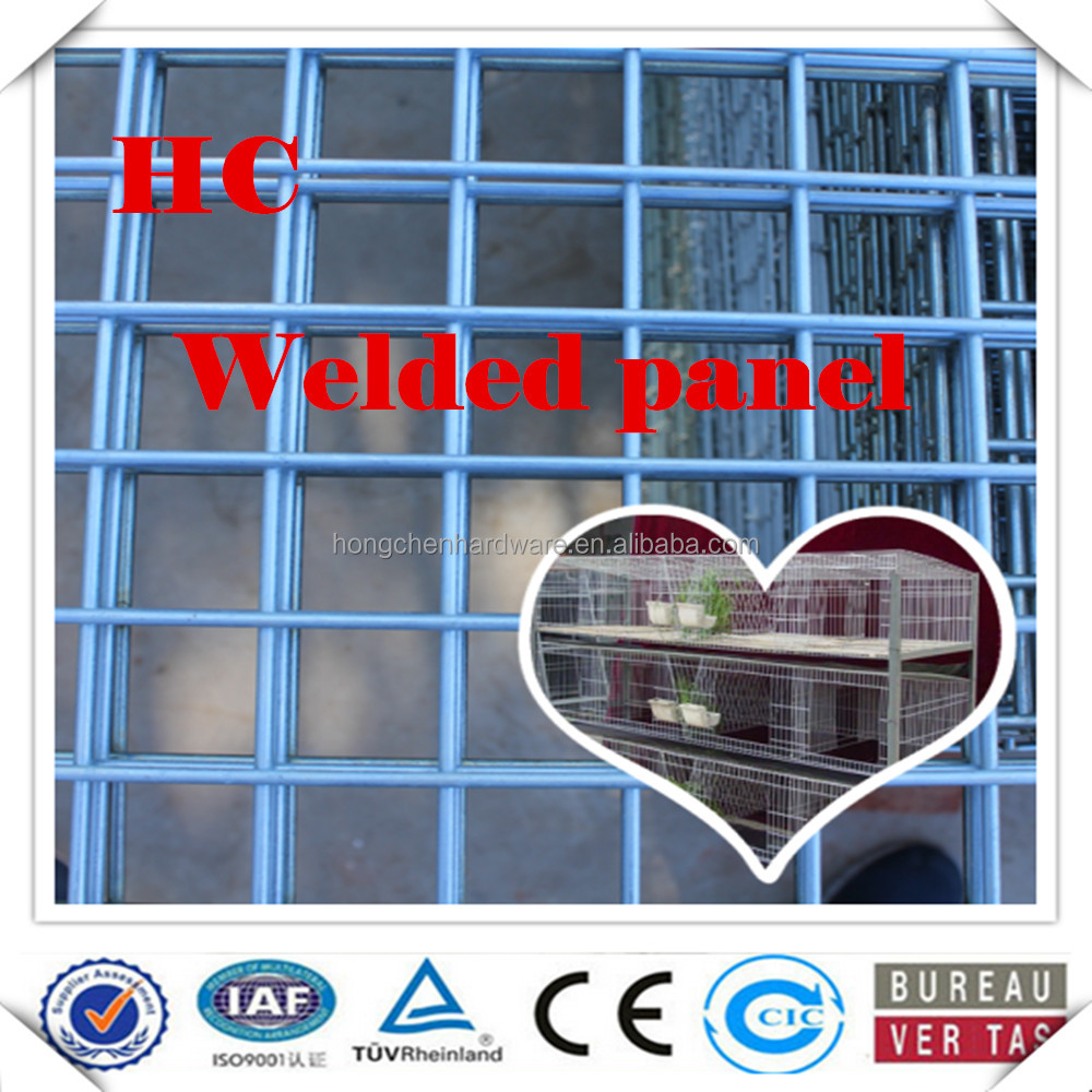 high quality Welded Wire Mesh Panel for concrete building and reinforcing mesh