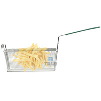Hot sale Non stick stainless steel wire fry basket for high quality deep fat fryer
