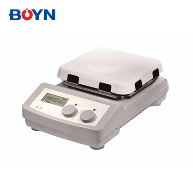 MS7-H550-Pro 7 inch square Digital accurately <strong>control</strong> speed laboratory hotplate magnetic stirrer