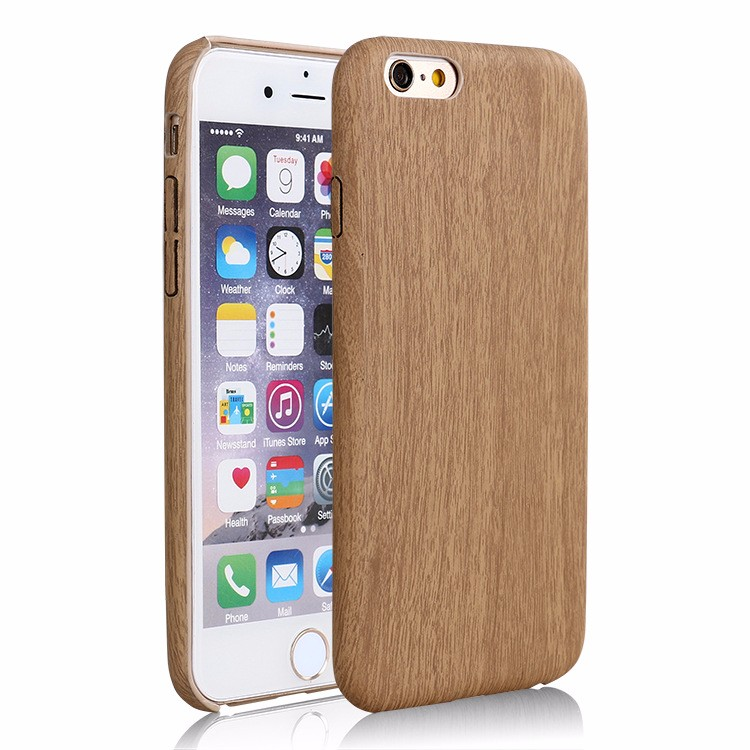 Oem wooden bamboo cell phone case for iphone 6