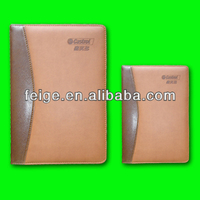 Factory product Leather Notebook