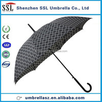 custom print long handle umbrella