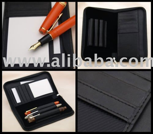 Item title: New Luxurious CALF Leather Multiple Holder Jotter