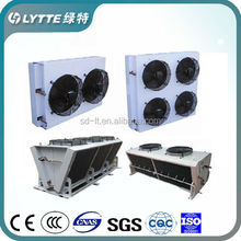 Green Painted Air Cooled Condenser of Refrigeration Parts for Cold Room