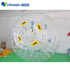 Real factory inflatable zorb ball, human hamster ball for sale, Cheap price grass zorbing ball